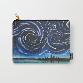 Starry Night in Cleveland Carry-All Pouch