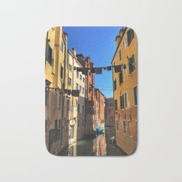 Laundry Day in Venice Bath Mat