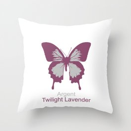 Ulysses Butterfly 14 Throw Pillow