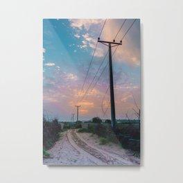 The Urban Rural Metal Print