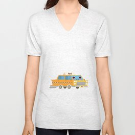 Release the inner New Yorker in you! Unisex V-Neck