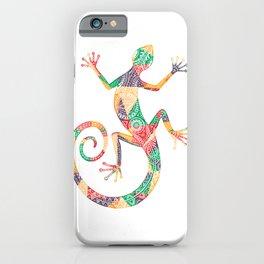 Vintage Art Gecko iPhone Case