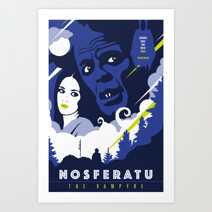 Nosferatu the Vampyre (1979) Art Print