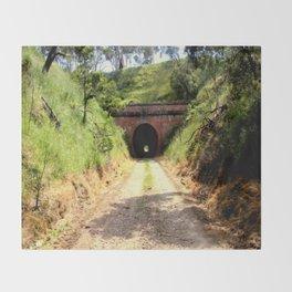 Cheviot Tunnel #2 Throw Blanket