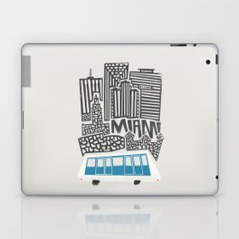 Miami Cityscape Laptop & iPad Skin