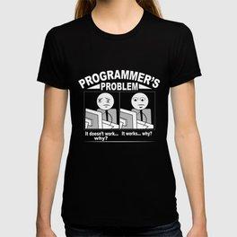 Programmer Problem Cartoon T-shirt