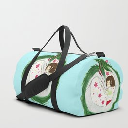 Watercolor Spirited Away - The Love Gathering Duffle Bag