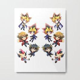 Yu-Gi-Oh Metal Print