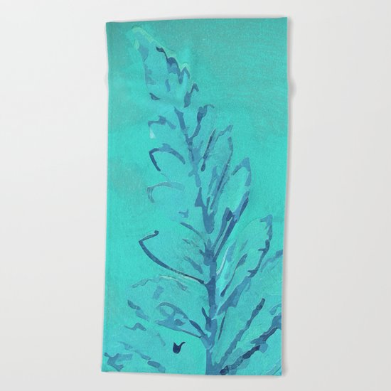 Painting II Beach Towel