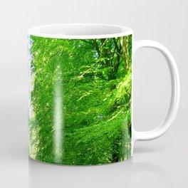 Forest outside Copenhagen Coffee Mug