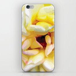 Close up of a Rose iPhone Skin