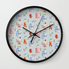 Unusual couples Wall Clock