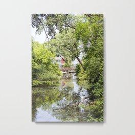 Up a Creek Metal Print