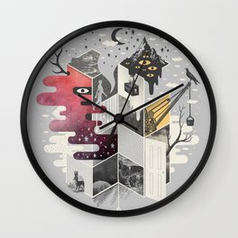 Jung At Heart Wall Clock