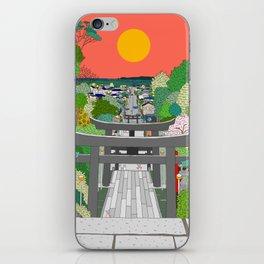 Passage to Light - Miyajidake Shrine iPhone Skin