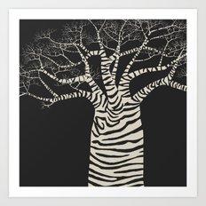 Treenimal Art Print