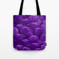 geode Tote Bags featuring Geode by Screen Candy