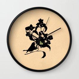 Idaho - State Papercut Print Wall Clock