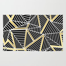 Ab Lines 2 Gold Rug