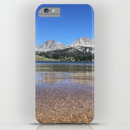 Beyond the Great Divide iPhone Case