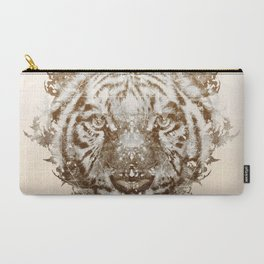 The White Tiger (Gold Version) Carry-All Pouch