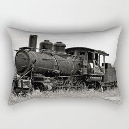 Vintage Steam Engine Rectangular Pillow