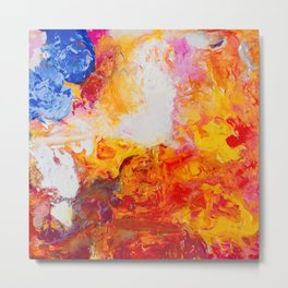 Beautiful Accidents (Fire and Water) Metal Print