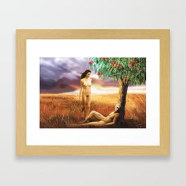 Adam and Eve Framed Art Print