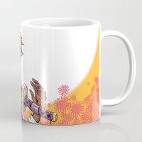 law Mugs featuring Law by Ida Dobnik