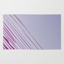 Design lines, exotic pink Rug