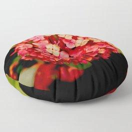 Maui Red Floor Pillow
