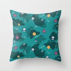 Deep Space Pattern Throw Pillow
