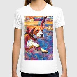 Beach Beagle T-shirt
