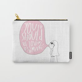 LOVE SOMEONE. Carry-All Pouch