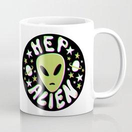 Hep Alien in 3D Coffee Mug