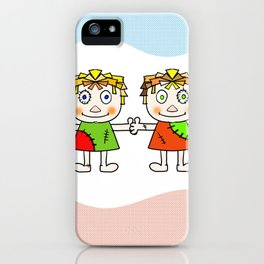 doll Wall iPhone Case