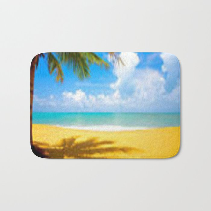 kill the beach Bath Mat