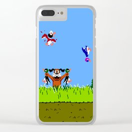 Hunting Ducks Clear iPhone Case