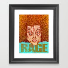 Carrot Top - ArtBattleLA Framed Art Print