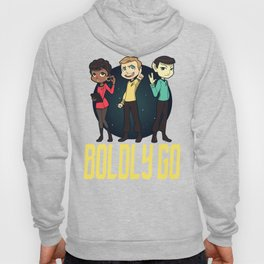 Boldly Go! Hoody