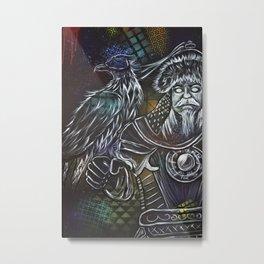 Mongolz Metal Print