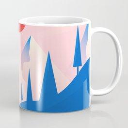 Flat Landscape Coffee Mug