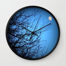 Moonlight at Dusk 2 Wall Clock