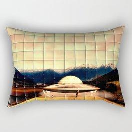 Alien Craft Rectangular Pillow