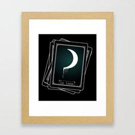 Luna Tarot Card Framed Art Print