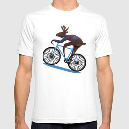 'Tis the season to be cycling T-shirt