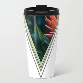 Green V #photography #minimal #design #kirovair #buyart Travel Mug