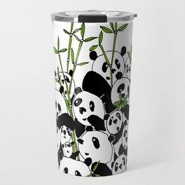 A Pandemonium of Pandas  Travel Mug