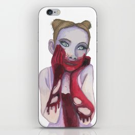 Cute Zombie Girl iPhone Skin