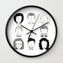 Sense8 Wall Clock